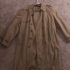 London fog trench coat new